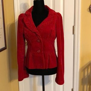 elevenses Fitted Red Jacket